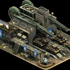 Przykład budynku wojskowego <a href=