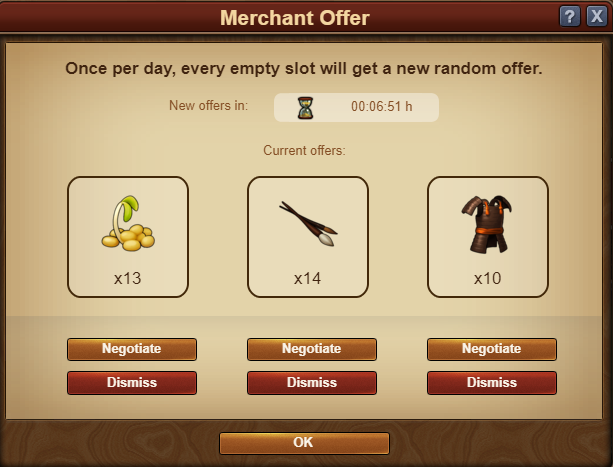 Merchant Offer