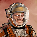 General Grivus Space Age Mars