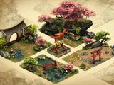 Cherry Garden Set