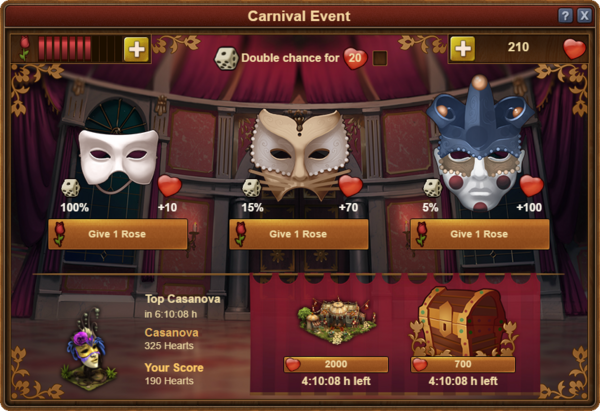Carnival Event Window