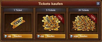 Tickets kaufen 2015