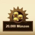Belohnung Münzen