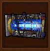 Helium-3-Extraktions-Werk - 8-h-Produktion