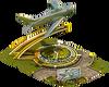 Jet Statue