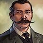 Portrait 245 - Sir Arthur Conan Doyle