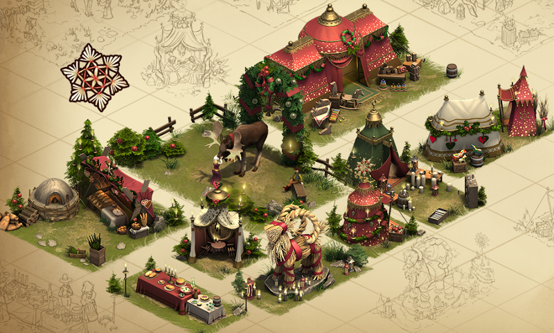 Forge Of Empires Christmas Event 2019 Winter Village Set   Forge of Empires Wiki   FANDOM powered by Wikia