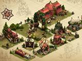 Winter Village Set