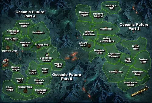 Ozeanische Zukunft Karte Abschnitt 3 - 5