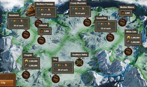 Karte Arktische Zukunft Phase 2