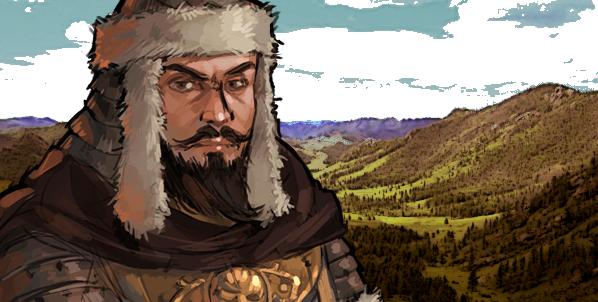 Genghis Khan banner