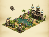 Indian Fountain Set