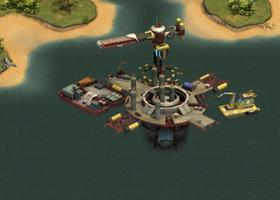 Ozean Terminal Stufe 0 Baustelle