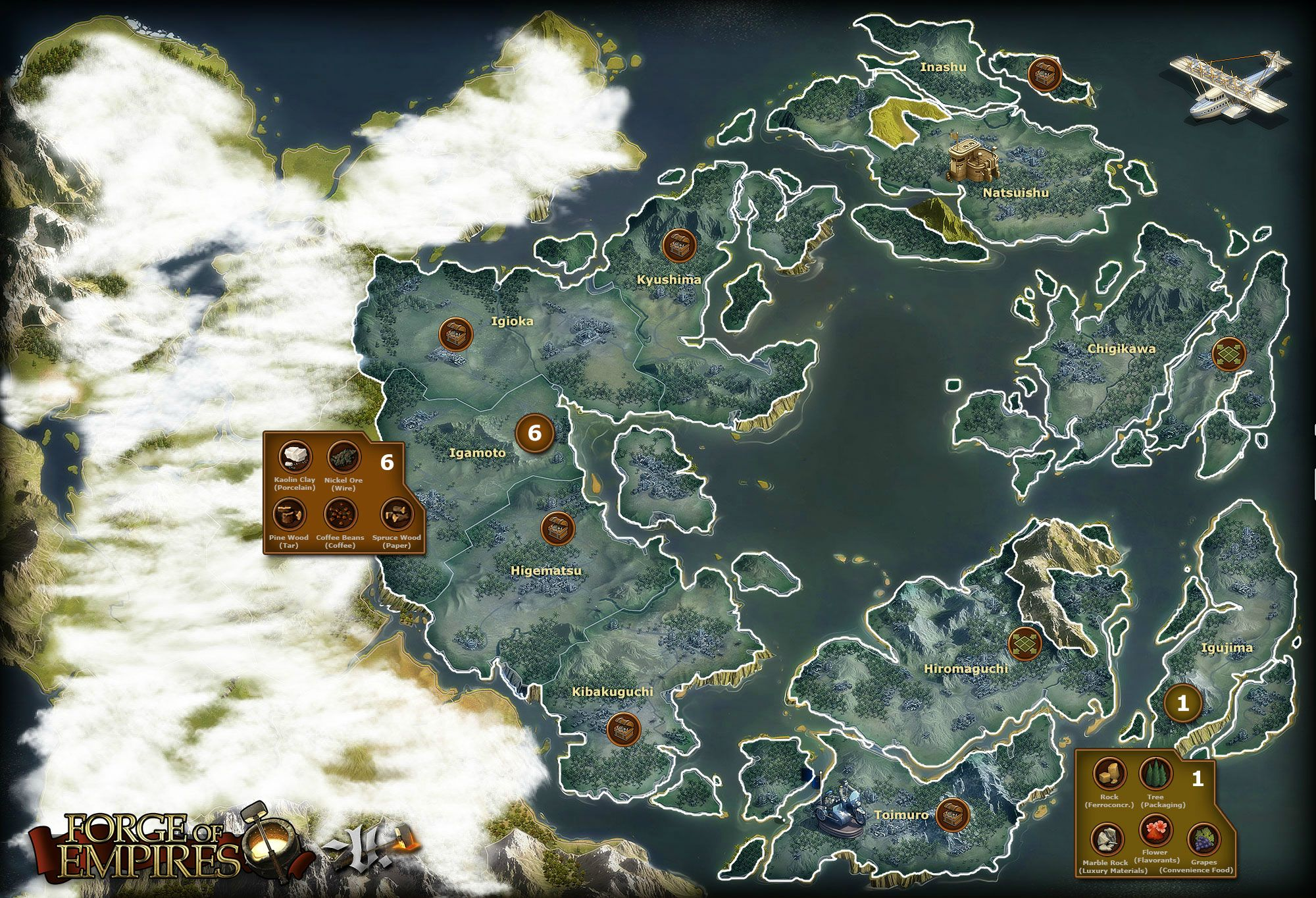 Forge Of Empire Karte