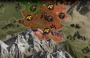 Karte von Sturmhohen (Ausschnitt)
