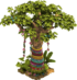 Decorated Baobab