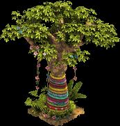 Decorated Baobab