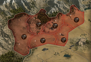 Karte von Suqqah (Ausschnitt)