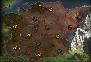 Karte Gorski - Ausschnitt