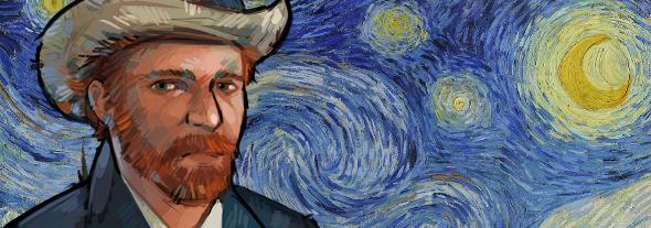 Van Gogh-Hintergrundbild