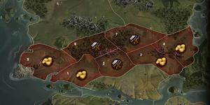 Karte Bisoraba