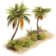 Cultivated Palms (East) A