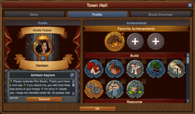 Achievements Profile