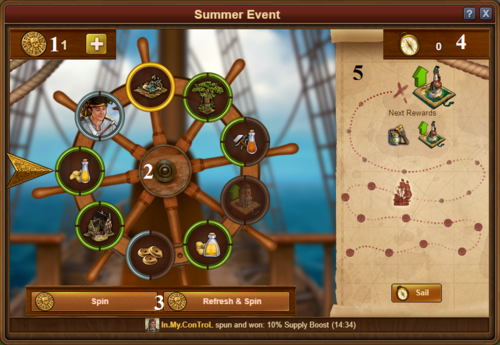 2019 Summer Event Example Window
