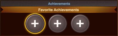 Achievements Favorite
