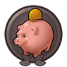 One for the Piggy Bank achievement