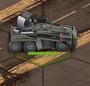 Mobile Mikrowellenwaffe (Schlachtfeld-Ansicht)