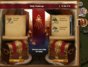 Quests panel - Daily Challenge