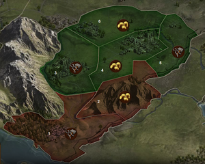 Karte Sektoren Uceria (Ausschnitt)
