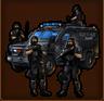 Privater Sicherheitsdienst - 1-T-Produktion