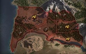 Karte Garrincton (Ausschnitt)
