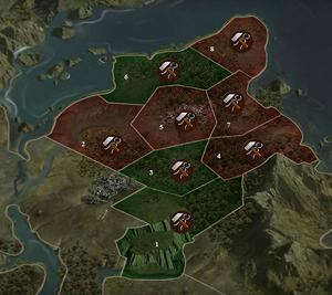 Karte Villariba