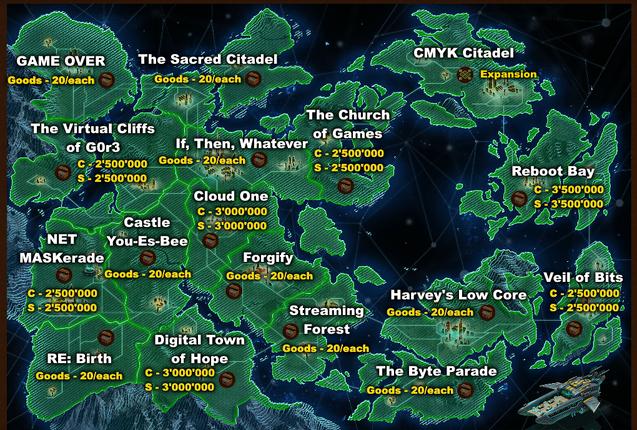 VF3 map