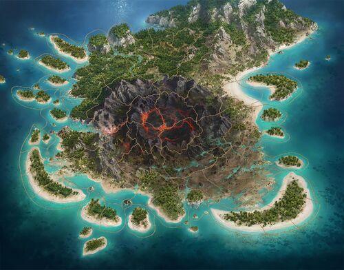 Guild Battlegrounds Map
