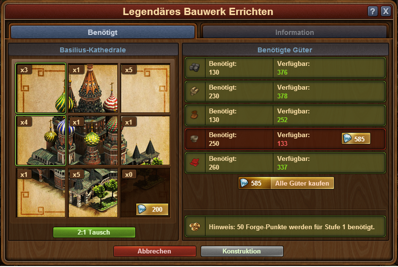 Blaupausen   Forge of Empires Wiki   FANDOM powered by Wikia