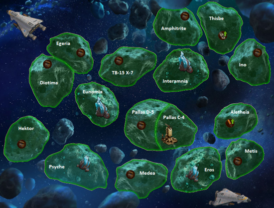 Space Age Asteroid Belt Map 1