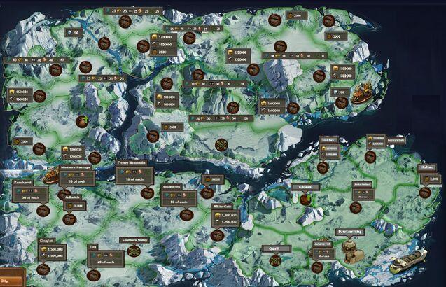 Foe map