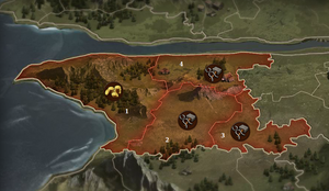 Karte Paruuch (Ausschnitt)
