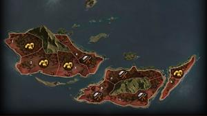 Karte El Fuego