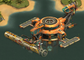 Ozean Terminal Stufe 2 Upgrade 2