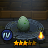 Egg Snake Warrior Small