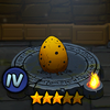 Small Scorpio Warrior Egg