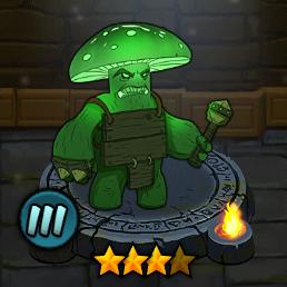 Militant Glowing Mushroom