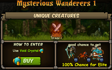Mysterious Wanderers