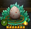 White egg X
