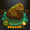 Коричнево-зелёная жаба